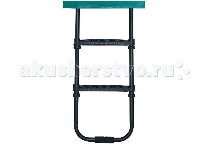 Berg Лестница для батута 35.90.01.00Лестница для батута 35.90.01.00Berg Лестница для батута 35.90.01.00 предназначена для батута диаметром 330, 380, 430 высотой до 90 см.  Лестница легко крепится и легко снимается, очень удобна для детей, так как имеет широкие ступеньки, исключающие возможность падения малыша.<br>