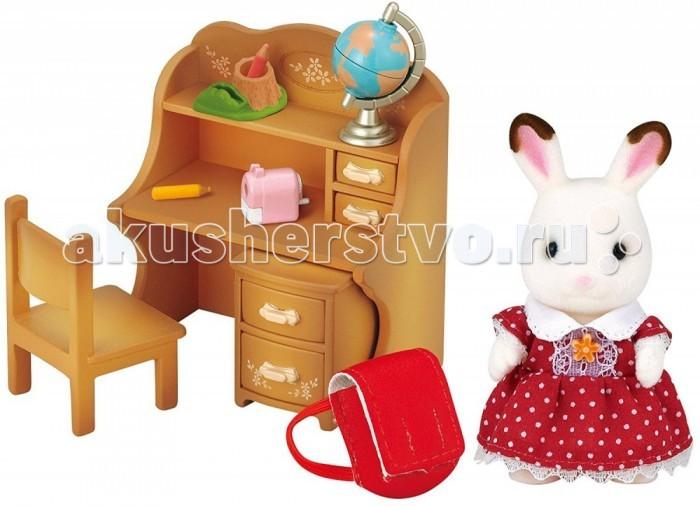 Игровые наборы Sylvanian Families Игровой набор Мария за партой набор холодильник с продуктами sylvanian families