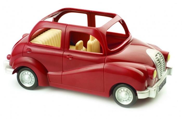 Игровые наборы Sylvanian Families Игровой набор Семейный автомобиль красный набор семейный автомобиль красный sylvanian families