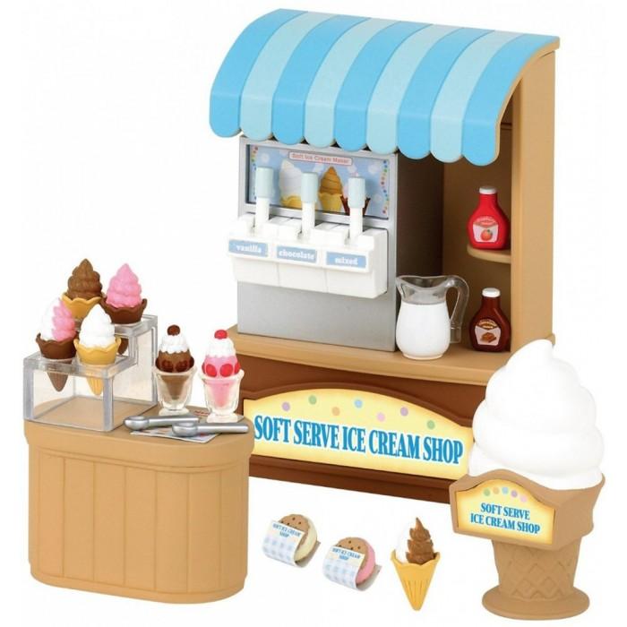Кукольные домики и мебель Sylvanian Families Игровой набор Магазин мороженого