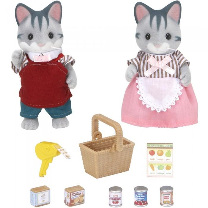 Купить Игровые наборы, Sylvanian Families Игровой набор Владельцы супермаркета