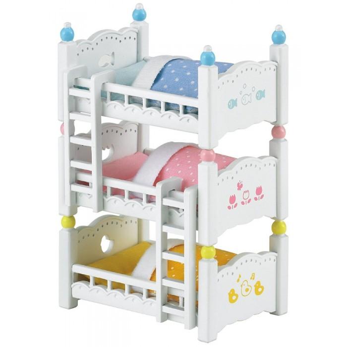 Кукольные домики и мебель Sylvanian Families Игровой набор Трехъярусная кровать