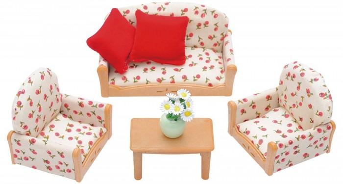 Купить Кукольные домики и мебель, Sylvanian Families Набор мягкой мебели для гостиной