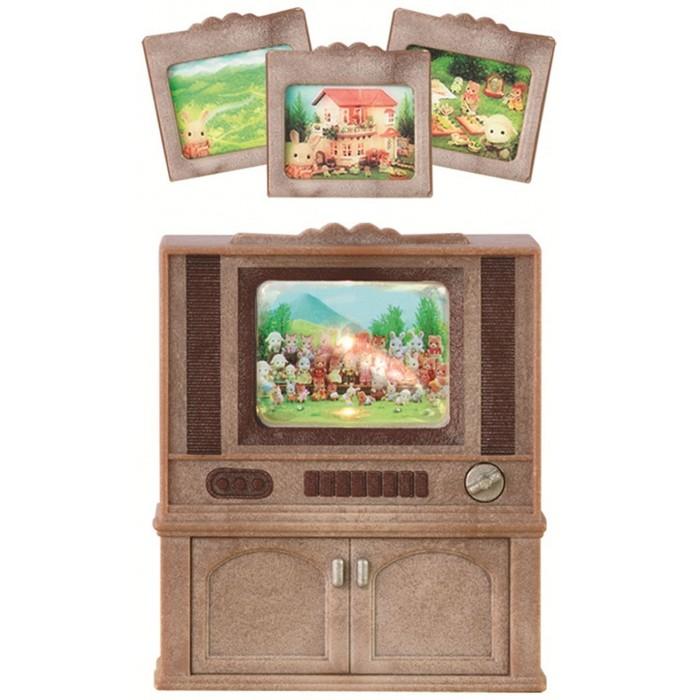 Игровые наборы Sylvanian Families Игровой набор Цветной телевизор игровые наборы sylvanian families игровой набор цветной телевизор