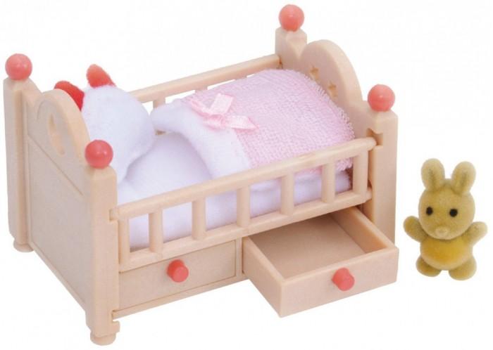 Кукольные домики и мебель Sylvanian Families Игровой набор Детская кроватка