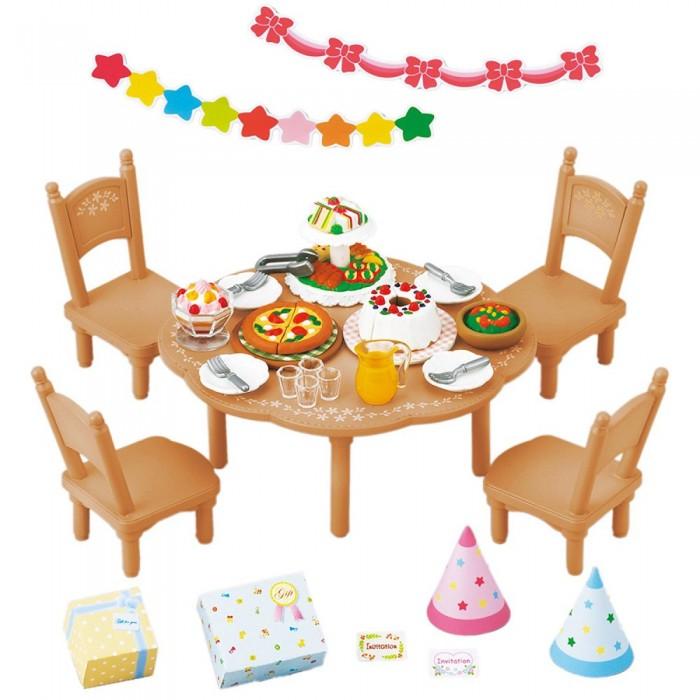 Кукольные домики и мебель Sylvanian Families Игровой набор Вечеринка