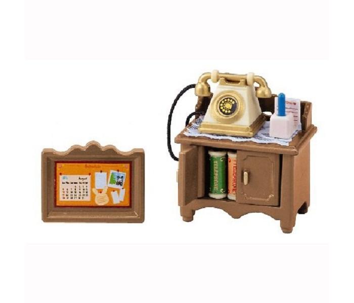 Кукольные домики и мебель Sylvanian Families Игровой набор Телефонный столик игровой набор sylvanian families телефонный столик