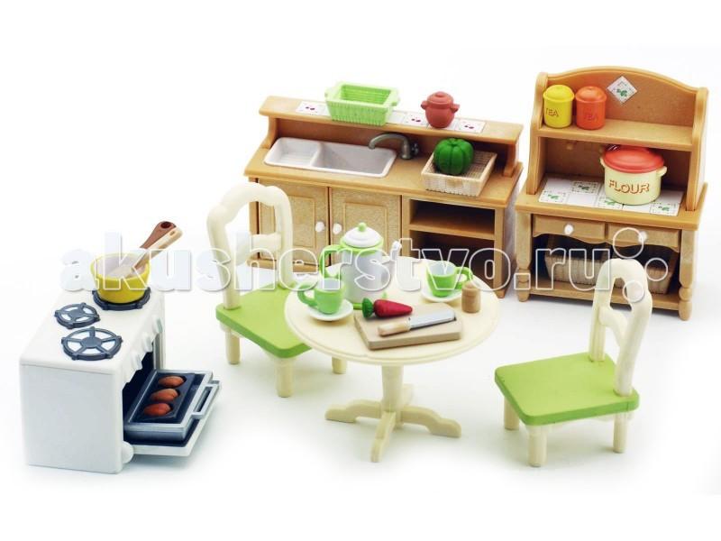 Кукольные домики и мебель Sylvanian Families Кухня в коттедже