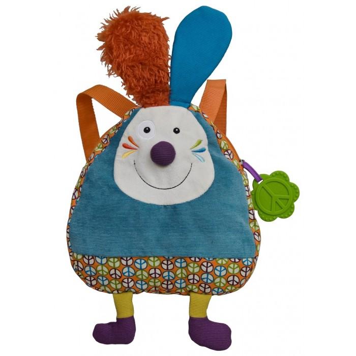 Ebulobo Рюкзачок Кролик ДжефРюкзачок Кролик ДжефEbulobo Рюкзачок Кролик Джеф - симпатичный мягкий рюкзачок с веселым кроликом прекрасно подойдет для городской прогулки полной увлекательных приключений. В этом рюкзачке найдется место для всего что необходимо для вашего малыша.  Особенности: Материал: мягкий плюш верхняя, задняя и подкладка хлопок Регулируемые лямки Ручка для переноски Этикетка для имени и адреса на последней странице.<br>