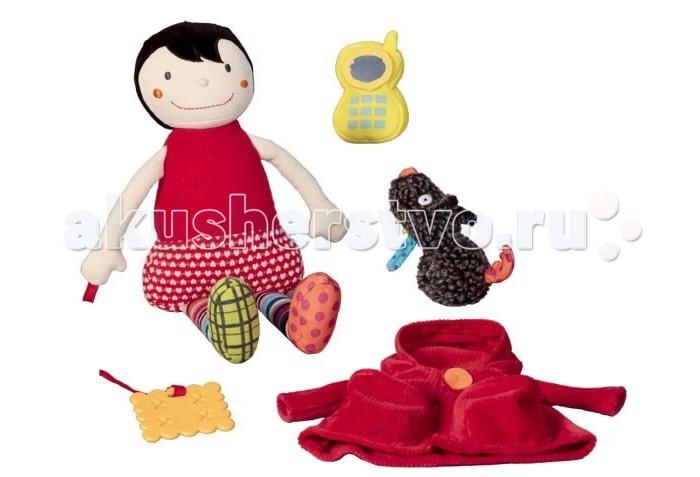 Развивающие игрушки Ebulobo Одень Красную Шапочку развивающие игрушки ebulobo слонёнок зигги и его друзья