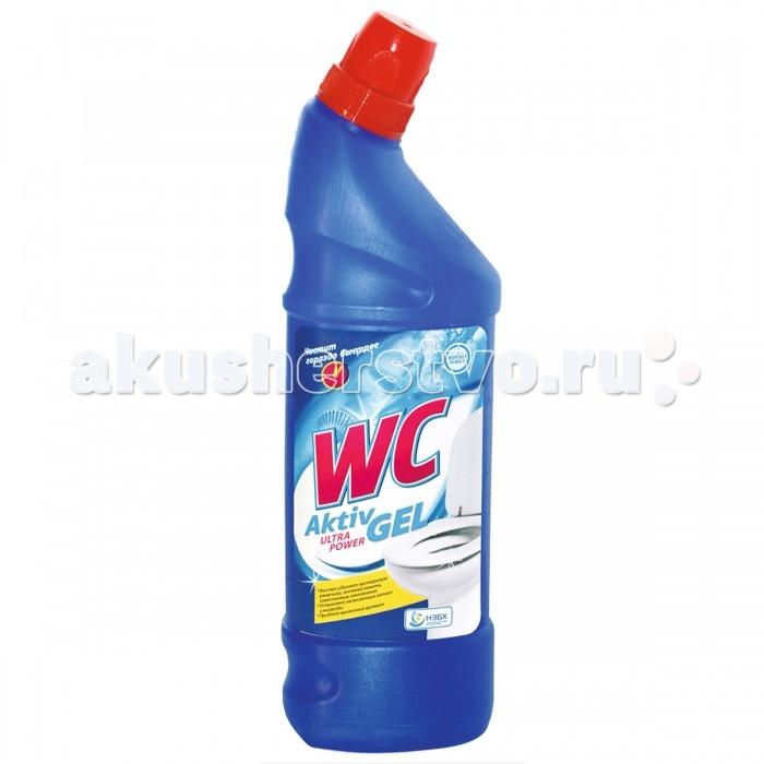Бытовая химия WC Средство для унитаза Aktiv Gel 750 мл пена монтажная мakroflex shaketec стандартная 750 мл