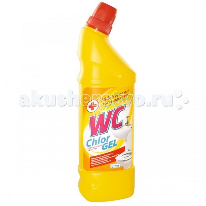 Бытовая химия WC Средство для унитаза Chlor Gel 750 мл бытовая химия xaax ополаскиватель для посудомоечной машины 500 мл