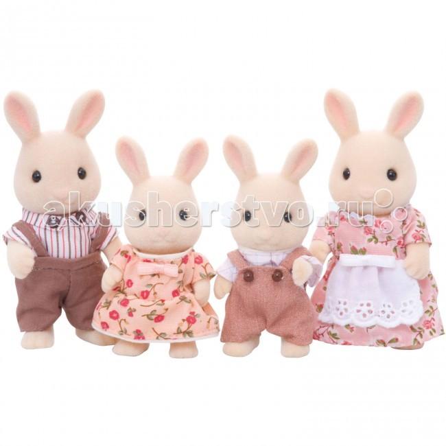 Sylvanian Families Игровой набор Семья молочных кроликов
