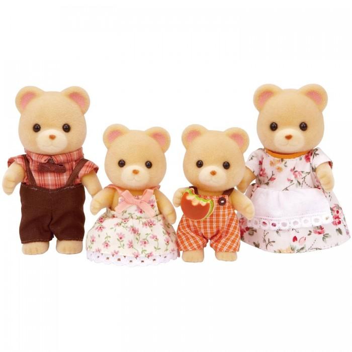 Игровые наборы Sylvanian Families Игровой набор Семья медведей набор village story семья белых мишек