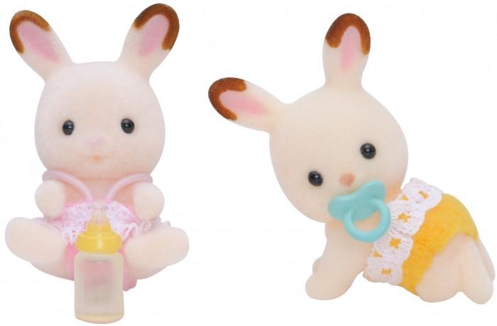 Игровые наборы Sylvanian Families Игровой набор Шоколадные кролики-двойняшки игровые наборы sylvanian families игровой набор белые мышата двойняшки