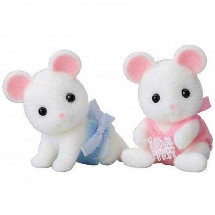 Игровые наборы Sylvanian Families Игровой набор Белые мышата-двойняшки игровые наборы sylvanian families игровой набор белые мышата двойняшки