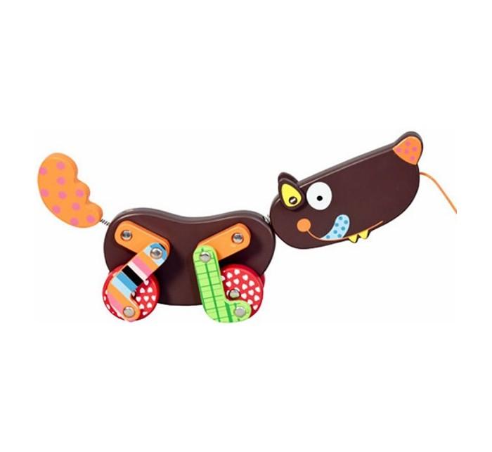 Купить Каталки-игрушки, Каталка-игрушка Ebulobo средняя Волчонок