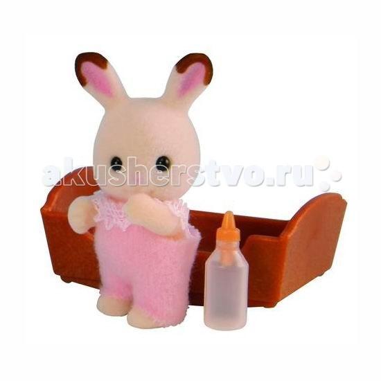 Игровые наборы Sylvanian Families Игровой набор Малыш Шоколадный Кролик sylvanian families набор мама кролик и холодильник
