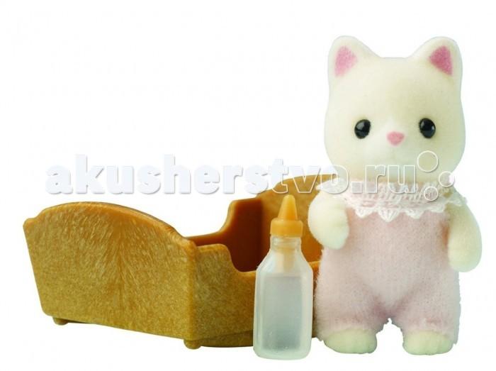 Игровые наборы Sylvanian Families Игровой набор Малыш Котенок набор ободков котенок и зайчик вв2150