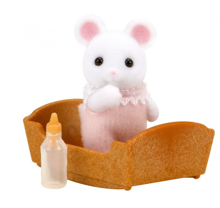 Игровые наборы Sylvanian Families Игровой набор Малыш Белый Мышонок
