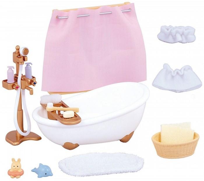 Фото - Кукольные домики и мебель Sylvanian Families Игровой набор Ванная комната мини полесье набор игрушек для песочницы 468 цвет в ассортименте