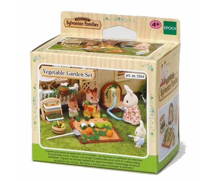 Игровые наборы Sylvanian Families Игровой набор Огород sylvanian families набор кухонный гарнитур