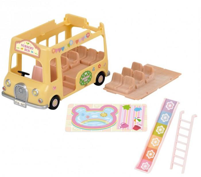 Игровые наборы Sylvanian Families Игровой набор Двухэтажный автобус для малышей билеты на 615 автобус на жд вокзале в хельсинки отзывы 2014