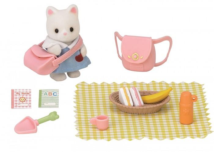 Игровые наборы Sylvanian Families Игровой набор Пикник в детском саду sylvanian families холодильник с продуктами новый