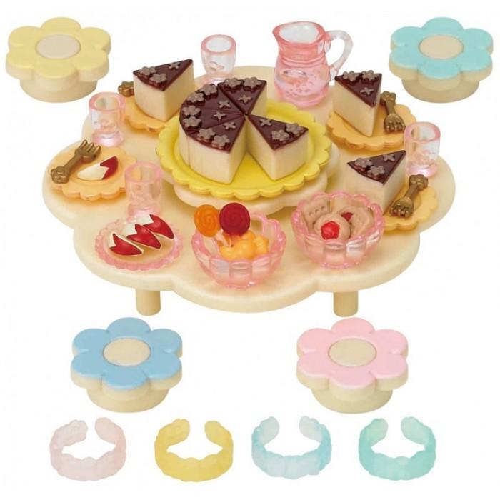 Игровые наборы Sylvanian Families Игровой набор Праздник в детском саду sylvanian families набор кухонный гарнитур