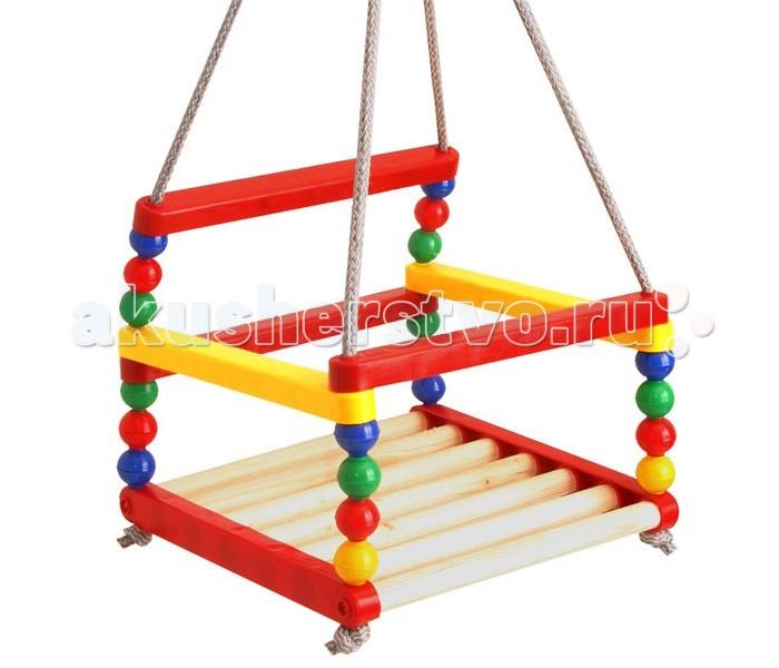 Качели R-Toys подвесные разноцветные
