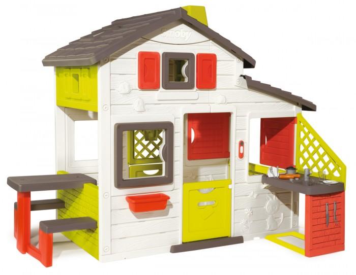 Smoby Домик для друзей с кухней