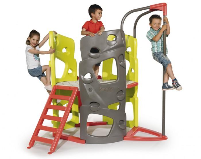 Летние товары , Игровые комплексы Smoby Игровой комплекс башня с горкой 840201 арт: 282046 -  Игровые комплексы