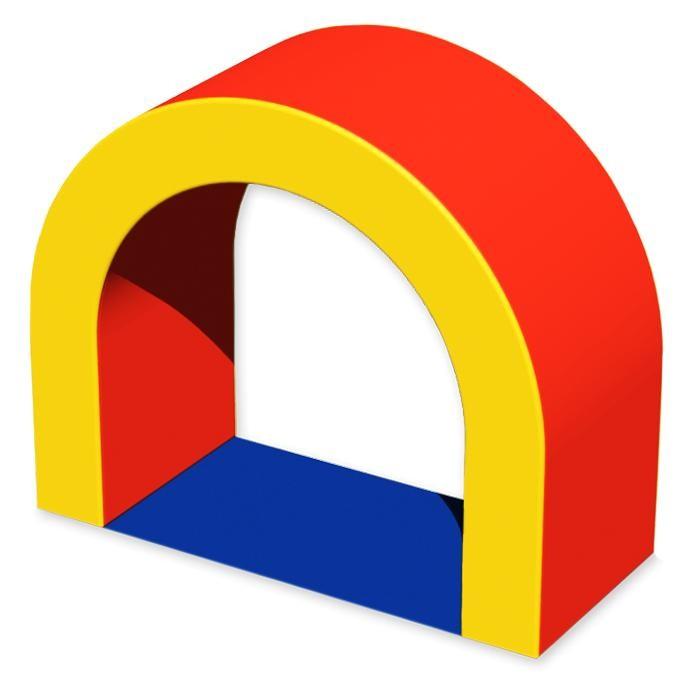 Romana Мягкий комплекс ВоротаМягкие модули<br>Romana Мягкий комплекс Ворота - элемент полосы препятствий в виде дуги.  Особенности: Можно использовать отдельно или вместе с группой других элементов. Способствует развитию ловкости и гибкости у детей.  Хорошо выдерживает нагрузку, быстро восстанавливает свою первоначальную форму и не требует сложного гигиенического ухода.  Подходит, как и для дошкольных учреждений, так и для домашнего пользования. Соответствует требованиям ГОСТ  Габаритные размеры 700 x 300 х 600 мм. Цвета в ассортименте.