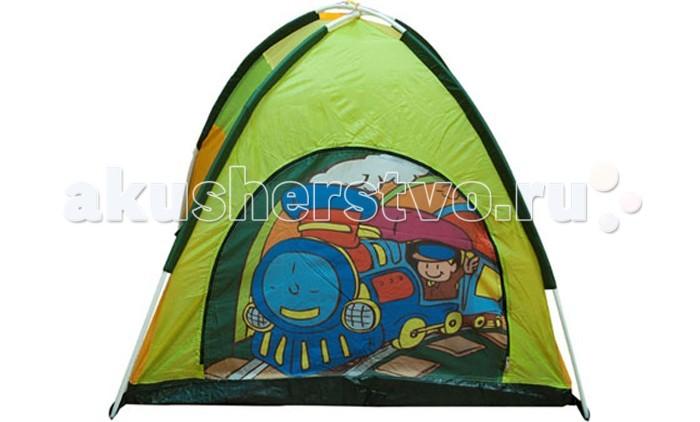 Палатки-домики BabyOne Ching Ching Дом паровозик + 100 шаров CBH-14, Палатки-домики - артикул:28231