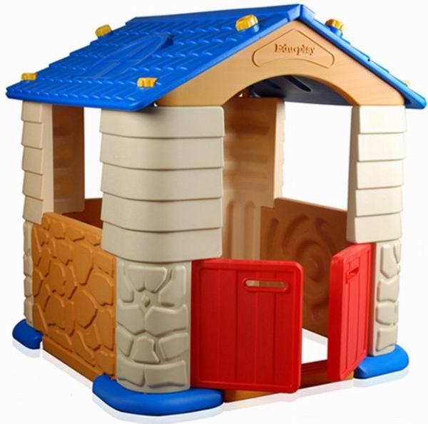 Edu-Play Игровой домик GrandИгровой домик GrandEdu-Play Grand PH-7328 - прекрасный большой, просторный игровой дом для малыша. Большой плюс данной модели в том, что на его базе можно создавать следующие комбинации: при помощи соединительного элемента и игрового манежа можно легко объединить два дома, что значительно увеличит игровую зону и позволит привлечь к игре большое количество детей.   Данную процедуру можно делать до бесконечности. Таким образом можно построить небольшую деревню и огромный город! Идеальный вариант для детских садов!  Характеристики: изготовлен из высококачественной, экологически чистой, современной пластмассы, предназначенной для производства предметов детской группы предназначен для детей от 1 года прочная и устойчивая конструкция товар соответствует всем нормам большой плюс данной модели в том, что на его базе можно создавать различные комбинации при помощи соединительного элемента и игрового манежа можно легко объединить два дома удобные открывающиеся двери  идеальный вариант для детских садов отлично вписывается как в уличные детские площадки, так и в домашний интерьер оригинальный, яркий дизайн легко чистится и моется<br>