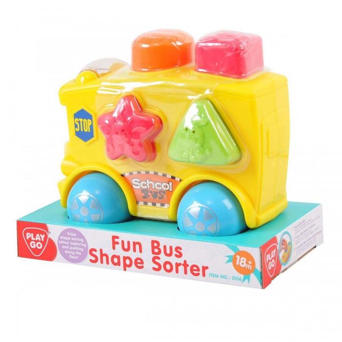 Сортеры Playgo Развивающая игрушка Автобус сортеры playgo развивающая игрушка самолет сортер