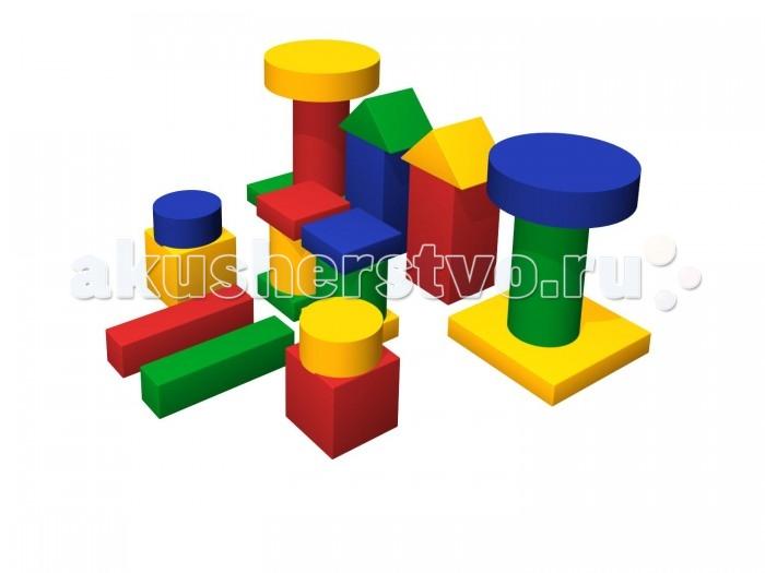 Romana Мягкий конструктор ДворикМягкий конструктор ДворикRomana Мягкий конструктор Дворик это набор больших разноцветных кубиков, различной формы, для детского строительства.  Особенности: Обучает геометрическим формам, цветам и размерам. Развивает фантазию. Подходит как для детских дошкольных и младших школьных учреждений, так и для домашних спортивных и развивающих игр.  В комплекте: кубик, цилиндр, треугольник, столбик, мат.  Соответствует требованиям ГОСТ.  Габаритные размеры 2100 x 2100 мм. Кубик: 300 х 300 х 300 мм - 2 шт. Треугольник: 425 х 300 х 212 мм - 2 шт. Цилиндр: 600 х 600 х 150 мм - 2 шт. Цилиндр: 300 х 300 х150 мм - 2 шт. Цилиндр: 600 х 300 х 300 мм - 2 шт. Цилиндр: 300 х 300 х 300 мм - 2 шт. Столбик: 600 х 300 х 300 мм - 2 шт. Кубик: 600 х 150 х 150 мм - 2 шт. Прямоугольник: 300 х 300 х 100 мм - 4 шт. Мат: 600 х 600 х 100 мм - 2 шт.<br>
