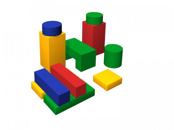 Romana Мягкий конструктор ФабрикаМягкий конструктор ФабрикаRomana Мягкий конструктор Фабрика - это набор больших разноцветных кубиков, различной формы, для детского строительства.  Особенности: Обучает геометрическим формам, цветам и размерам. Развивает фантазию. Подходит как для детских дошкольных и младших школьных учреждений, так и для домашних спортивных и развивающих игр.  В комплекте: прямоугольник, брус, столбик, цилиндр, мост. Соответствует требованиям ГОСТ.  Габаритные размеры 1500 x 1200 х 750 мм.  В комплекте Количество элементов: 11 Прямоугольник: 600 х 300 х 100 мм  - 2 шт. Брус: 600 х 150 х 150 мм - 2 шт. Столбик: 600 х 300 х 300 мм - 2 шт. Прямоугольник: 300 х 300 х 100 мм - 1 шт. Цилиндр: 300 х 300 х 300 мм - 1 шт. Цилиндр: 300 х 300 х 150 мм - 2 шт. Мост: 600 х 300 х 300 мм - 1 шт.<br>