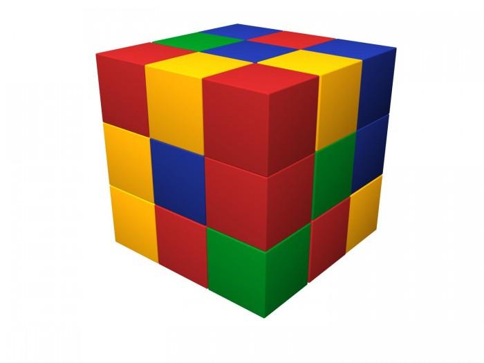 Купить Мягкие модули, Romana Мягкий конструктор Кубик-рубик