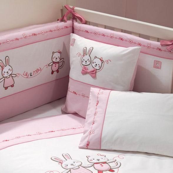 купить Подушки для малыша Fiorellino Подушка Lily Milly 40х40 см дешево