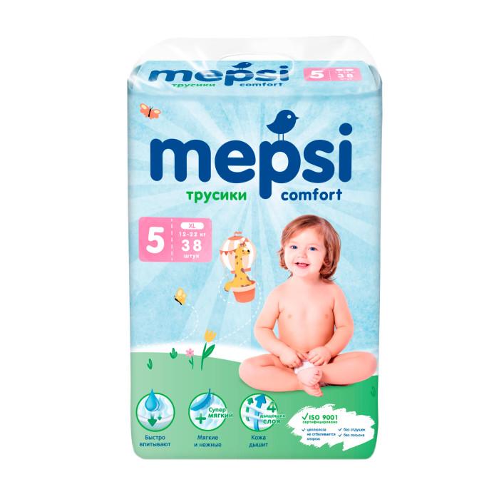 Подгузники Mepsi Подгузники-трусики XL (12-22 кг) 38 шт. mepsi подгузники 4 9 кг 54 шт