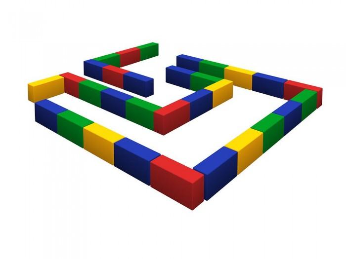 Romana Лабиринт (мини)Лабиринт (мини)Romana Лабиринт (мини) - это набор разноцветных прямоугольников для детского строительства.   Особенности: Развивает физические навыки и фантазию.  Подходит как для детских дошкольных и младших школьных учреждений, так и для домашних спортивных и развивающих игр.  Соответствует требованиям ГОСТ.  Габаритные размеры: 2000 x 2000 мм Высота: 150 мм Допустимая нагрузка: 50 кг Прямоугольник: 300х150х100 мм - 30 шт.<br>