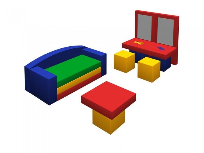 Спорт и отдых , Мягкие модули Romana Игровой набор Парикмахерская арт: 283846 -  Мягкие модули