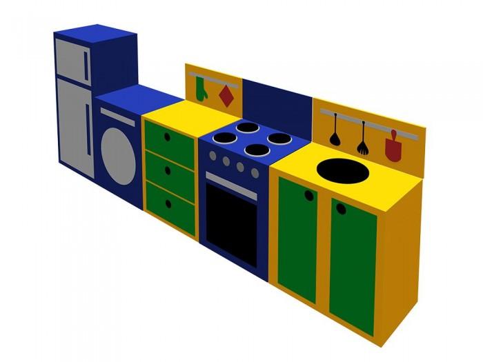 Спорт и отдых , Мягкие модули Romana Игровой набор Поварёнок арт: 283852 -  Мягкие модули
