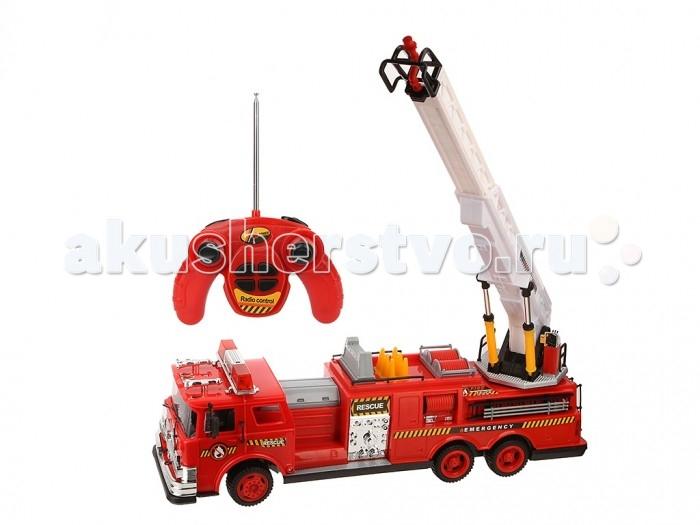 Yako Машина на радиоуправлении Y15183032Машина на радиоуправлении Y15183032Yako Машина на радиоуправлении Y15183032 готова занять свое место в игрушечном гараже мальчика. Игрушка изготовлена из пластмассы с металлическими элементами. Внешний вид игрушечной техники практически не отличается от настоящих пожарных машин.   Управление игрушкой происходит с помощью простого и понятного пульта, работающего на батарейках. Она умеет свободно передвигаться в любую сторону. Такая пожарная машина сможет с легкостью примчаться на место, где случился пожар в игровых сюжетах ребенка.<br>