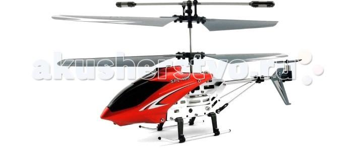 SPL Вертолет на и/к управлении с гироскопом SPL108Вертолет на и/к управлении с гироскопом SPL108Вертолет на и/к управлении с гироскопом SPL108 имеет оригинальную конструкцию, небольшой вес и управление с помощью хвостового винта. Оснащён встроенным аккумулятором, который заряжается непосредственно от передатчика.   Вертолет на и/к управлении с гироскопом SPL108 совместим со смартфонами через iController (адаптер дистанционного управления).  В комплекте: вертолет SPL 108 на ИК управлении передатчик с функцией зарядки инструкция кабель USB для зарядки запасные лопасти запасной задний винт Технические параметры: 3 канала управления (движение вверх, вниз, вперед, назад, поворот влево, поворот вправо) дальность работы: 10 м время работы:8 мин тип элементов питания игрушки: встроенный Размеры: 10.5х19х22 см<br>