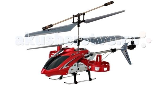 Вертолеты и самолеты SPL Вертолет на и/к управлении с гироскопом SPL103 плед luxberry imperio 10 умбра