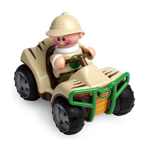 Машины Tolo Toys Сафари Квадроцикл развивающие игрушки tolo toys тюлень