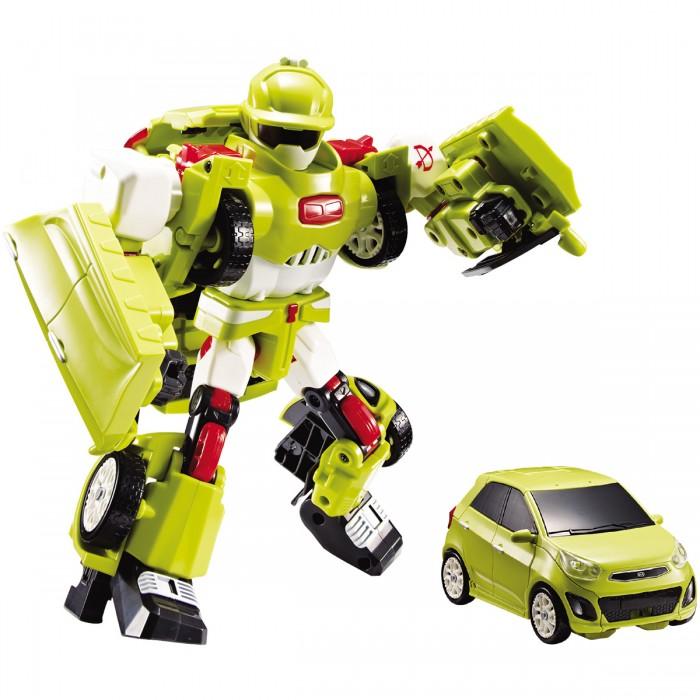 Tobot Робот-трансформер Тобот DРобот-трансформер Тобот DTobot Робот-трансформер Тобот D для поклонников популярного мультфильма «Тобот» замечательным подарком станет трансформер, который благодаря нескольким манипуляциям можно превратить из легкового автомобиля в мощного робота.   Для начала превращения необходимо вставить в него специальный ключ в комплекте. Игрушка развлечёт ребёнка звуковыми эффектами, которые срабатывают от касания.  Особенности: Замечательная игрушка выполнена по мотивам популярного мультфильма «Тобот», и является миниатюрной копией одного из его персонажей. Робот благодаря несложным манипуляциям легковая машинка светло-жёлтого цвета с тонированными стёклами легко трансформируется в сверхмощного робота и обратно, для этого необходимо открыть ключем-токеном специальную защёлку. В комплекте находятся красочные наклейки, которыми малыш сможет украсить автомобиль по своему усмотрению. Автомобиль можно катать по поверхности, благодаря крутящимся колёсам с рельефным протектором. Благодаря точному исполнению всех деталей и их качественному соединению, трансформацию можно производить несчётное количество раз. Игрушка имеет компактный размер, удобный для манипуляций детскими ручками. Игрушка оснащена датчиком касания и звуковым модулем: при прикосновении Тобот начинает говорить. Изделие изготовлено из ударопрочного пластика, поэтому игрушка порадует ребёнка своей долговечностью. Специально для мини Тобота ребёнок придумает множество увлекательных сюжетов для игр, в которых он станет главным персонажем. Занимаясь с трансформером, ребёнок улучшит память, научится размышлять логически, потренирует моторику рук, раскроет воображение и фантазию. Игрушка выполнена из качественных материалов и имеет требуемые сертификаты соответствия. Комплект: робот, 2 ключа-токена, 3 батарейки LR44, наклейки.  Возраст: от 3 лет.<br>