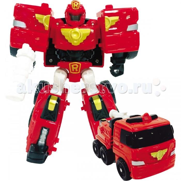 Роботы Tobot Робот-трансформер Мини Тобот R детская ванночка эдельвейс флиппер 45л 12003